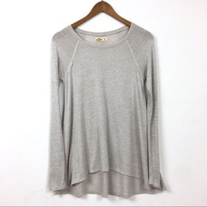 Hollister | Inside Out Knit High Low Sweater